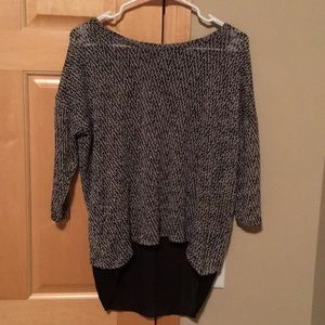 EUC Limited high low sweater size small